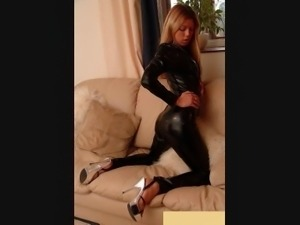 DOMINA in leather  in pvc  in latex