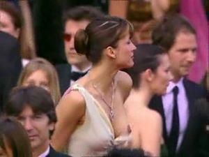 Sophie Marceau nipple slip