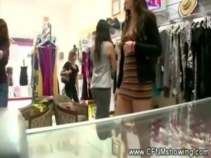 Ladies shocked in dressing room ... free