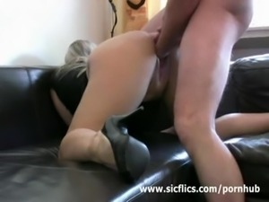 The sow must have her cunt fisted to reach an orgasm