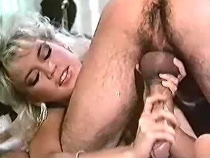 Amber loves the  stiff one! Goes at it again in this classic clip with dick...