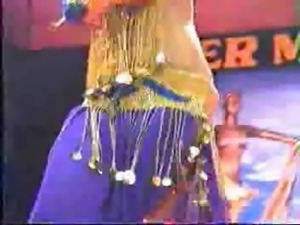 Busty Belly Dance