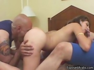 Nice Arab girl gets fucked doggystyle part2