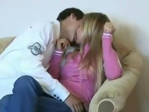 Skinny Teen Banged By Boyfriend