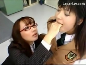 Schoolgirl In Uniform Getting H ... free
