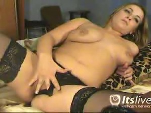 We have this lovely milf named Adelle in this webcam clip. Watch as she...