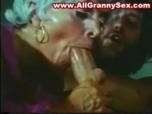 retro Granny Fucked