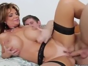 Big Breasted Deauxma Makes Her Friends Boyfriend Fuck Her