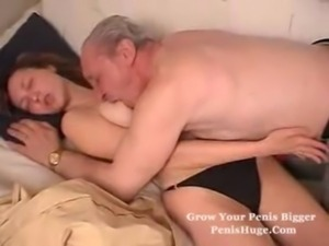 Old man fucks his grandsons gir ... free