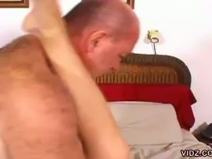Midget blonde slut loves stroking luscious big dicks