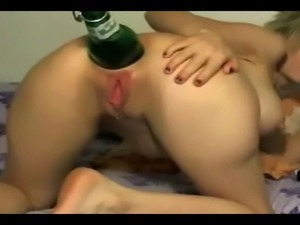Asshole Extrem - Bottle in Ass Hole