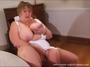Mature English Amateur BBW Granny