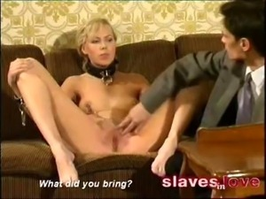 Slave as birthdaypresent