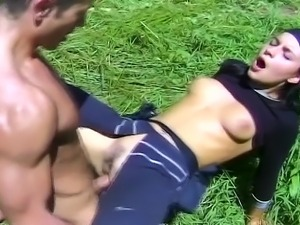 Fucking is fresh again as these men and women engage in fucking outdoors. The...