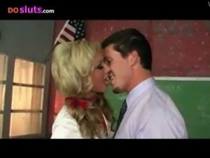 Kayden Kross Fucks her Teacher  ... free