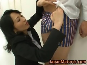 Natsumi Kitahara ass licks her guy part5