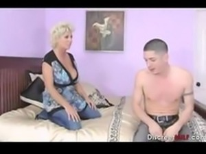 Busty Mother Fucks Sons Friend