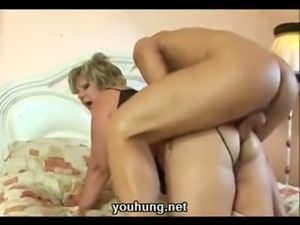 Mature big and lovely gets hamm ... free