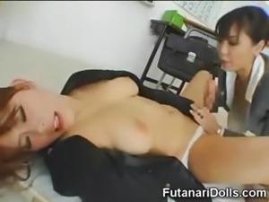 Asian Futanari Teen Nympho!