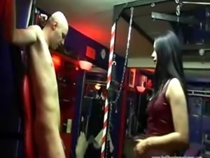 Ballbusting Crucified Balls