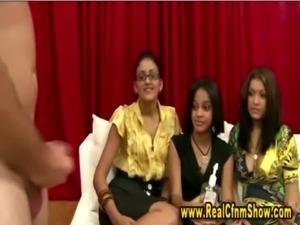 Cfnm real amateur femdom girls free
