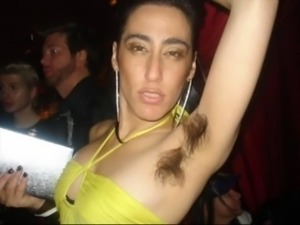 Hairy armpits amateur party PART-1 free