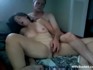 MILF wife gets eaten and fucked