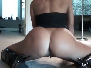 Brianna Frost dancing and toy using