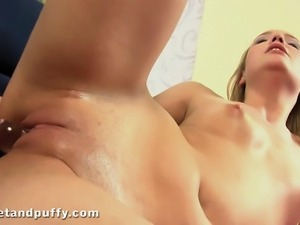 the peachy pussy feels great when your cock enters inside its fleshy outer...