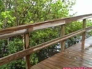 Couple Gets Caught Fucking Outdoors