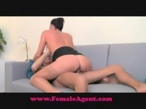 FemaleAgent Lucky devil's casting free