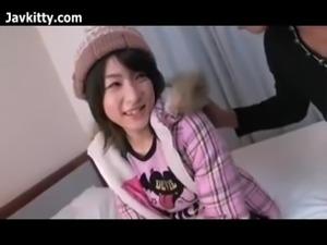 Japanese Teen In High Socks