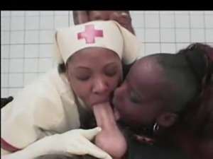 Black Latex Nurses free