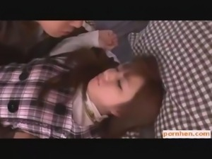 PORNHEN - JAPANESE TEEN BABE ASIAN BLOWJOB JAPAN BOOBS BUSTY BIG TITS...