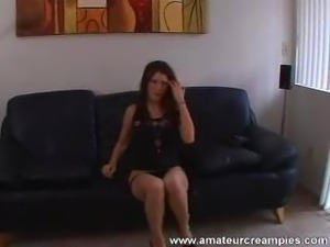 The sexy Jenny Lee gets another creampie on AmateurCreampies.  I just can't...