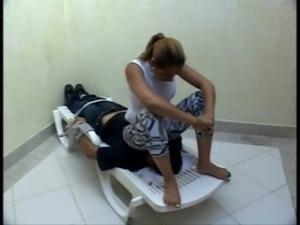 Chubby Brazilian woman facesits ... free