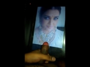 Cum on Indian Queen Actress Aishwarya Rai