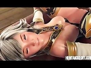 Hentai girl gets her tight ass brutally pumped by monster