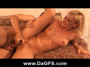 Insatiable mom gets picked up from the school run by a complete stranger. She...