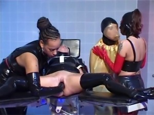 Latex Nun Fisted Rather Hard