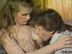 Classic pornstar ginger lynn gets spit roasted
