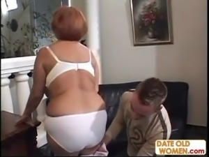 Older MILF fucked hard by stud free