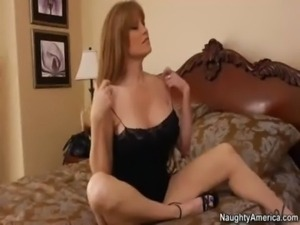 Busty MILF gets fucked hard by  ... free