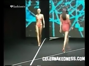 Celebnakedness models nude on the runway and seethroughs 2