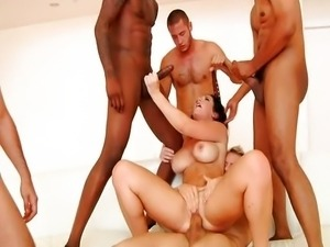 Jayden James gangbanged