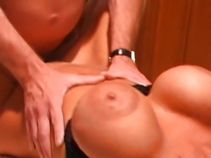 Dr Dick scores some big boobs