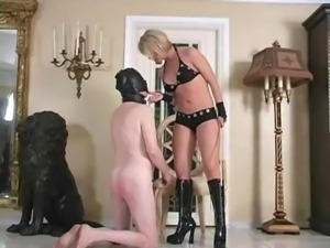 Caned by Mistress