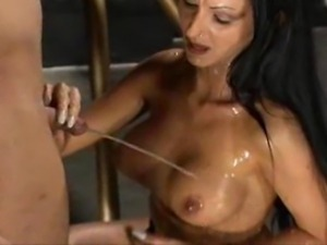 Golden showers With Mistress