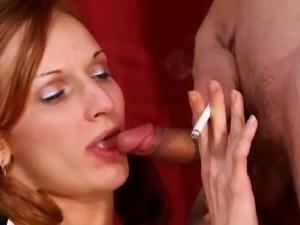 Smoking Fetish - Dirty Smokers - Barbara