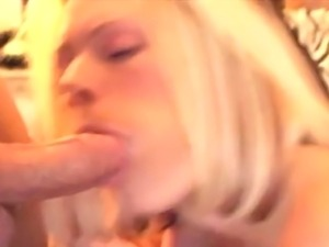 Jenna special blowjob, with cum in mouth